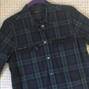 J.Crew Plaid Cotton Pullover (new w/o tags)